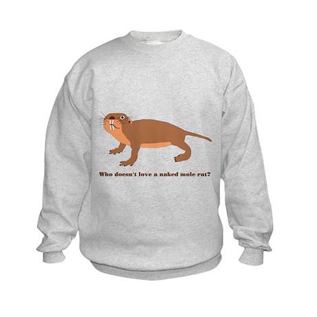 Naked Mole Rat Kids Sweatshirt