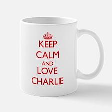 Keep Calm and Love Charlie Mugs