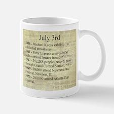 July 3rd Mugs