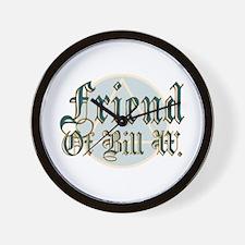 Friend Of Bill W. Wall Clock