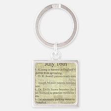 July 16th Keychains