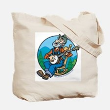 Tote Bag: Country rocks...bluegrass rules