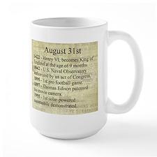 August 31st Mugs