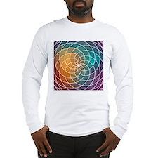 Geometric Multi Color Patterned Design Long Sleeve