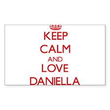 Keep Calm and Love Daniella Decal