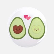 "Cute Avocado in love, perfect other half 3.5"" Butt"