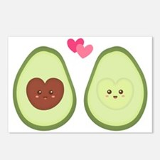 Cute Avocado in love, perfect other half Postcards