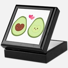 Cute Avocado in love, perfect other half Keepsake