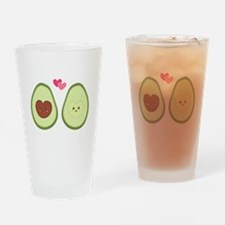 Cute Avocado in love, perfect other half Drinking