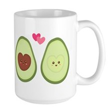 Cute Avocado in love, perfect other half Mugs