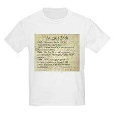 August 28th T-Shirt