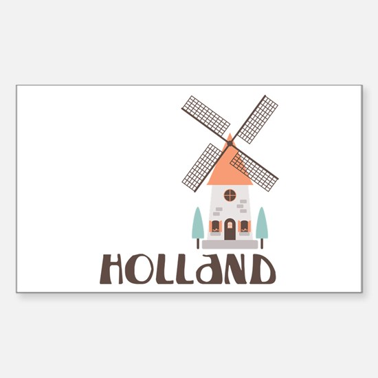 HOLLAND Decal