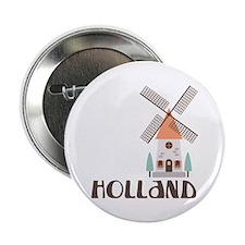 "HOLLAND 2.25"" Button"