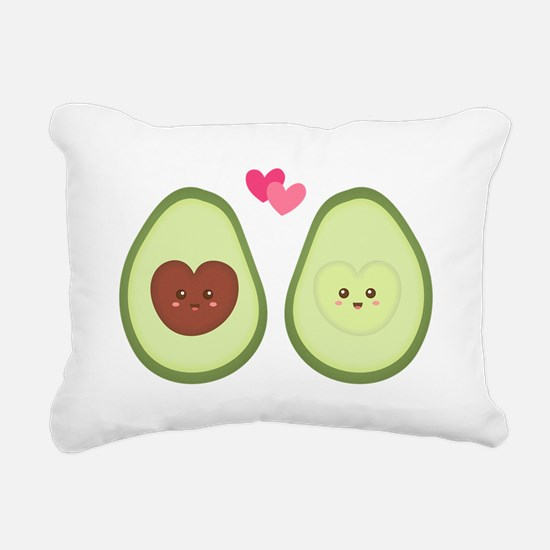 Cute Avocado in love, perfect other half Rectangul