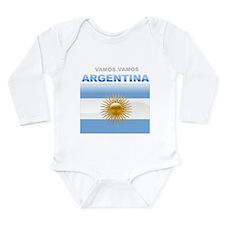 Vamos Argentina Body Suit