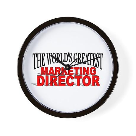 """The World's Greatest Marketing Director"" Wall Clo"