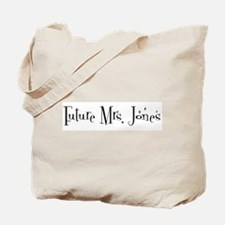 Future Mrs. Jones Tote Bag