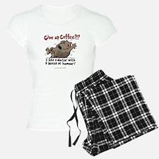 Give Up Coffee pajamas