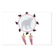 Black Bear Dream Catcher Postcards (Package of 8)