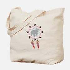 Black Bear Dream Catcher - Tote Bag