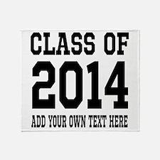 Class of 2014 Graduation Throw Blanket