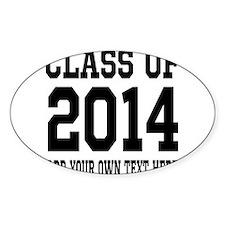 Class of 2014 Graduation Decal