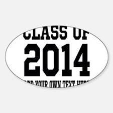 Class of 2014 Graduation Decal