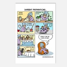 Shabbat Preparations Postcards (Package of 8)