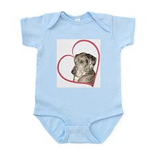 N Mrl Heartline Infant Bodysuit