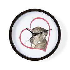 N Mrl Heartline Wall Clock