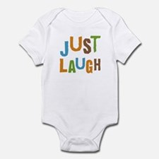 Just Laugh Infant Bodysuit