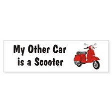 Just Gotta Scoot Classic Bumper Bumper Sticker