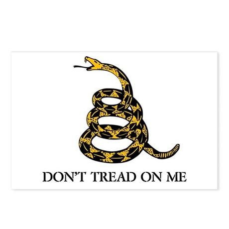 Don't Tread on Me Postcards (Package of 8)