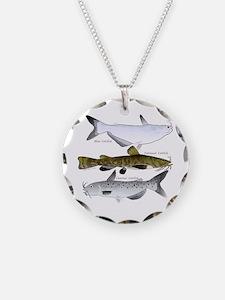 Three North American Catfish Necklace