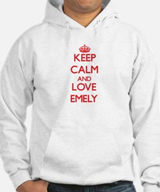 Keep Calm and Love Emely Hoodie