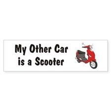 Just Gotta Scoot Red Buddy Bumper Bumper Sticker