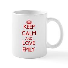 Keep Calm and Love Emily Mugs