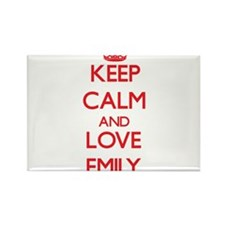 Keep Calm and Love Emily Magnets