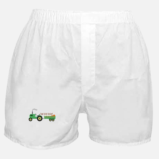 Time To Hit The Hay! Boxer Shorts