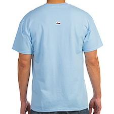 Quaint Fishing Village Colored T-Shirt