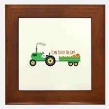 Time To Hit The Hay! Framed Tile