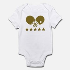 Ping Pong table tennis Infant Bodysuit