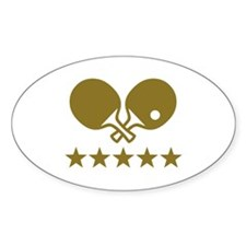 Ping Pong table tennis Decal
