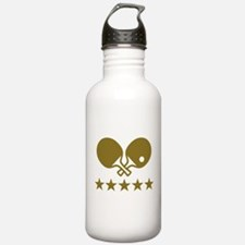 Ping Pong table tennis Water Bottle