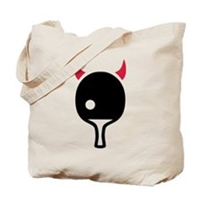 Table tennis Devil Tote Bag