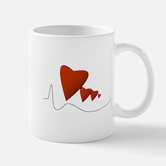 Heartbeats - Mug