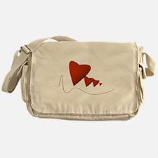 Heartbeats - Messenger Bag
