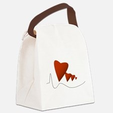 Heartbeats - Canvas Lunch Bag