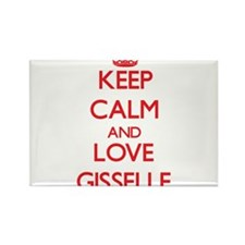Keep Calm and Love Gisselle Magnets