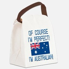 Perfect Australian Canvas Lunch Bag
